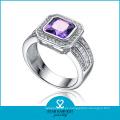 Pulido piedra natural traje joyería anillo (sh-r0122)