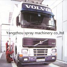 Peut la cabine de jet industrielle adaptée aux besoins du client pour le camion