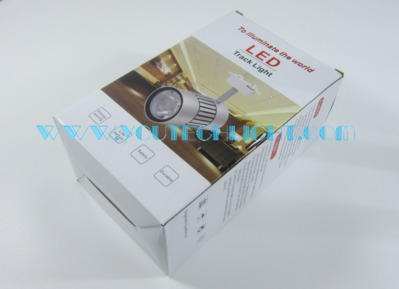 15w track light packaging