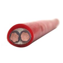 2-adriges geschirmtes Silikon-Elektrokabel