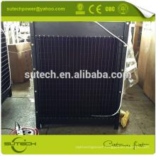 Copper core water radiator for Cummin NTA855-G2 series engine