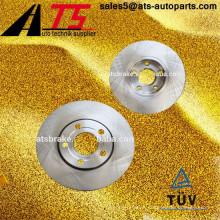 Piezas de automóvil OEM 4A0615301C 4A0615301D disco de rotor de freno para AUDI / SKODA