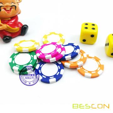 Haute qualité Mini Custom jetons de Poker Composite d'argile, argile Pure Mini Poker Chip