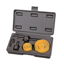 Power Tools Accessories 11PCS Hole Saw Set OEM Metalworking
