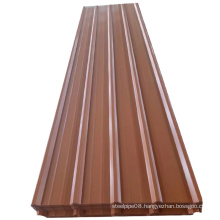 the best sale RAL 8017 6005 corrugated roof sheet ppgi corrugated roof sheet