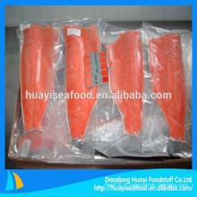 Diverses tailles de viande de saumon sauvage congelé à prix raisonnable