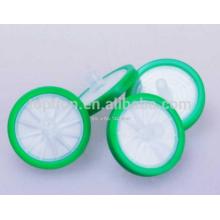 Syringe Filter, PTFE, 25mm diameter, 0.45um, 100pcs/bag,Lab Chemistry Labware