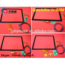 Создание LCD Lvds емкостного сенсорного экрана Touch Glass
