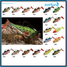 Three Size Soft Lead Fish in Multi Color Fishing Bait