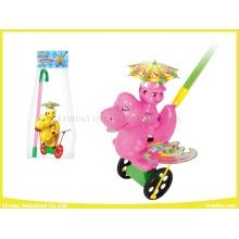 Push Pull Spielzeug Drachen Kunststoff Spielzeug