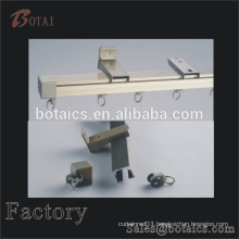 plastic accessories curtain metal track and runners