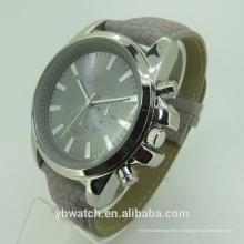Роскошные мода Тип Кварцевые Пол унисекс и мужские кожаные часы
