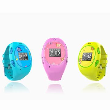 Montre intelligente imperméable de GSM GSM d'enfants avec l'appel téléphonique