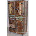 Recycled Old Timber Drwaer Cabinet Fridge Style