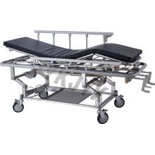 Chariot à tablette à trois fonctions en acier inoxydable