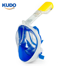 Patented Top selling anti fog scuba diving snorkel mask with Detachable Camera Mount