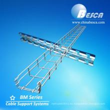 UL clasificó BESCA marca Wire Mesh Cable Tray Fabricación a la venta