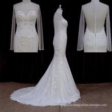 2016 сексуальная свадебное платье с видеть сквозь ремни, рукава