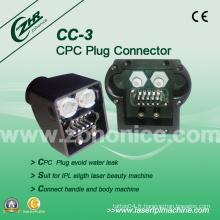 Cc-3 CPC Plug Connector IPL Pièces de rechange IPL Machine Accessory