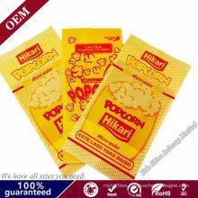 Bulk Popcorn Paper Bags Wholesale Fast Food Packaging Kraft Paper Bags
