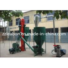 Línea de producción de máquina vendedora caliente de la pelotilla de la alimentación animal