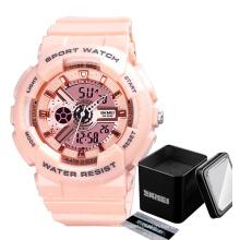 Hot sale skmei 1689 ladies digital watches reloj montre jam tangan ladies watch women watches