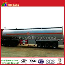 Volume Optional 3 Axles Diesel Fuel Tank Trailer