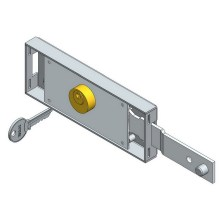 Höger Shifted Deadbolt Roller Shutter Lock