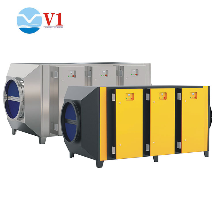 waste gas purifying machine