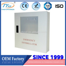 Para gabinete de desfibrilador de montaje en pared de primeros auxilios AED Hsinda-Cabinet
