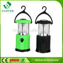 Lampe de camping à haute luminosité lumineuse d'urgence de camping 7 lampe de camping portative portable petite