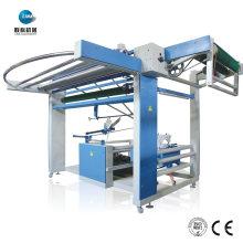 Máquina de coser de bolsas plegables textiles para tejido de punto