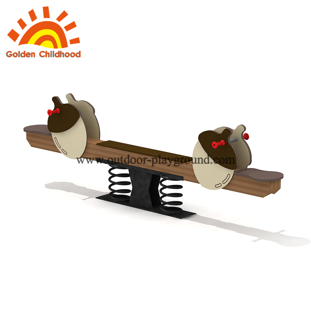 seesaw outdoor playground for kids
