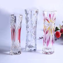 Cilindro Vaso de vidro