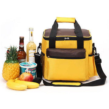 Geïsoleerde Rugzak Foam Ice Lunch Cooler Box