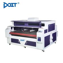 DT1610D-AF digital dual cabezas máquina de corte por láser mezclado tipografía y sistema de corte mixto