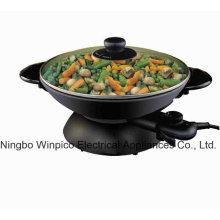 Les Woks électriques et Stir Fry Pans, 2-en-1