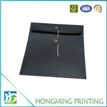 Custom Size Black Paper Envelope Packaging