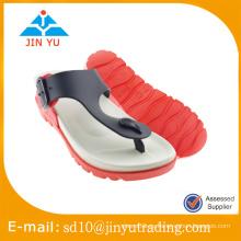 2016 China precio de fábrica pvc soplando dama zapatilla zapatilla