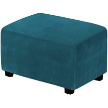 Stretch Rectangle Folding Storage Covers Ottoman Slipcovers