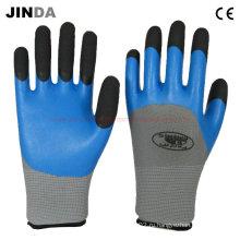 Перчатки для защиты рук латексной пеной (LH306)