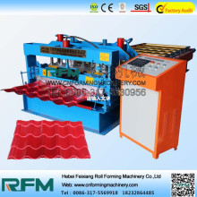 Bumbung Glazed Tile dan Roll Forming Machine