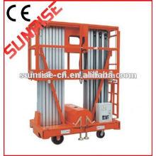 Factory price small telescopic aerial work platform