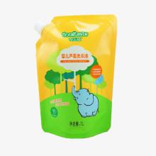 Sac d'emballage en plastique de détergent à lessive écologique personnalisé