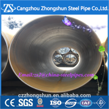 S355JR SSAW large diameter spiral steel pipe on sale