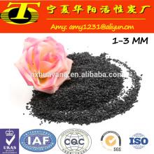 Pó de matérias-primas abrasivas em alumínio fundido preto