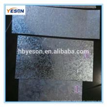 China proveedor Z40-Z280 acero galvanizado precios de chapa baja