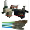 Alta velocidad de 5 ejes 3 cabezas CNC que hace la máquina de la fabricación de cepillo / de la máquina de fabricación de cepillo / tufting (2 perforación y 1 formación de nudos)