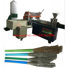 Alta velocidade 5 eixos 3 cabeças CNC perfuração e tufting escova que faz a máquina / vassoura que faz a máquina (2 de perfuração e 1 tufting)