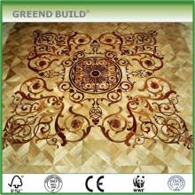 Art large parquet floor